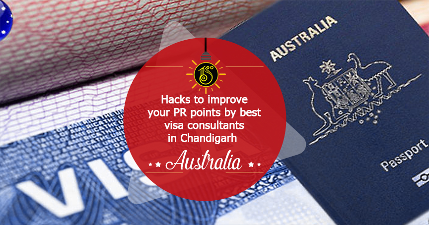 Hacks to improve your PR points by study visa consultants in Chandigarh